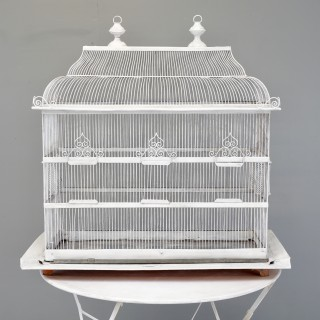 Wire Work Bird Cage
