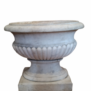 EARLY 19TH CENTURY ENGLISH MARBLE WINE COOLER
