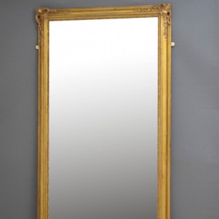 Superb 19th Century French Leaner Mirror