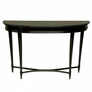 A FRENCH 1930'S EBONISED CONSOLE TABLE