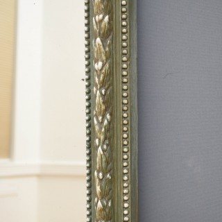 Large 19th Century French Mirror Leaner / Wall Mirror
