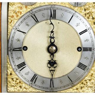 Antique Large Ormolu Mounted Oak Gilt Bronze Chiming Bracket Clock 19th C