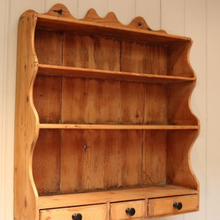 Late 19th Century Rustic Pine Wall Shelves