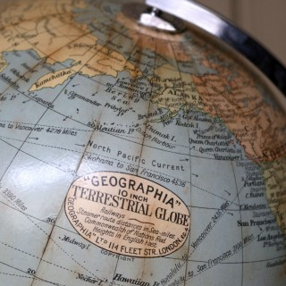 10 Inch 'Geographica' Terrestrial Globe