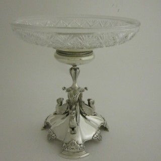 Antique Victorian Sterling silver centrepiece