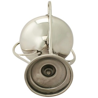 Sterling Silver 'Tennis' Presentation Trophy - Vintage George VI