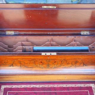 Inlaid Satinwood Carlton House Desk