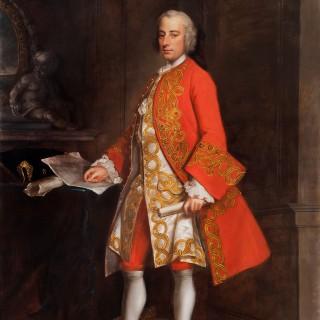 An Impressive 18th Century Portrait of Augustus Townshend