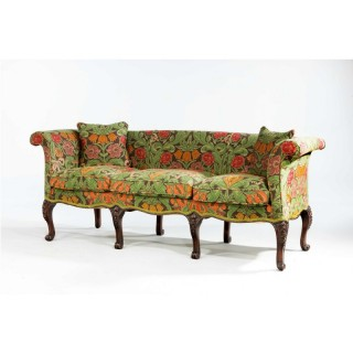 19th Century Mahogany Framed Sofa