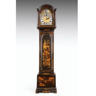 A George II Period Eight Day Longcase Clock by William Creak