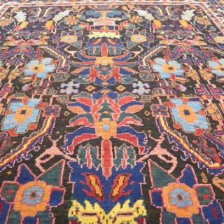 Unusual Afshar rug