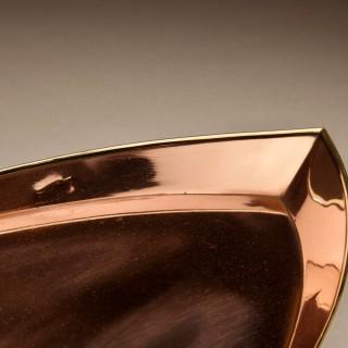 A very Stylish Copper and Brass Tea Set Circa 1900.