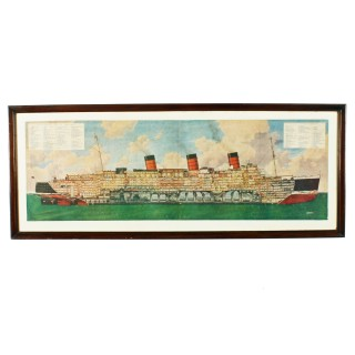 Framed 'Queen Mary' Print