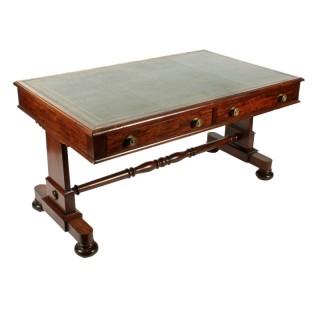 George IV Mahogany Writing Table