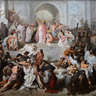 Emperor Nero and the Great Fire of Rome