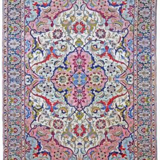 Antique 'Benlian' Tabriz carpet