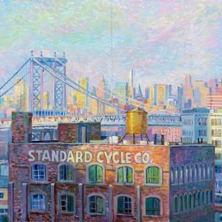 Manhattan Bridge (diptych)