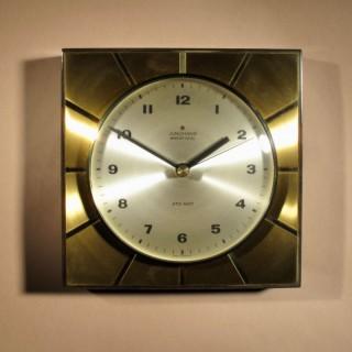 A stylish Design Junghans Ato-Mat Wall Clock.