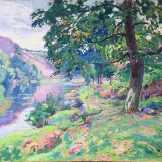 Bord de Rivière by Paul Madeline (1863 – 1920)