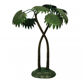 A 1930'S COLD PAINTED BRONZE PALM TREE