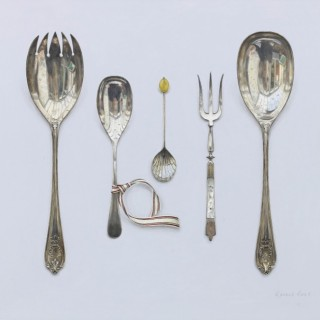 Scottish Contemporary Realistic Still Life Painting by Rachel Ross