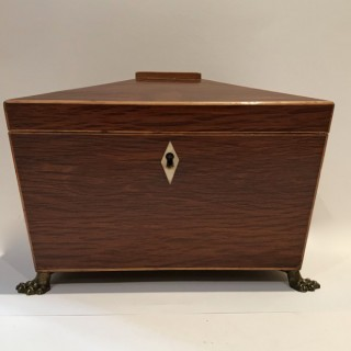 Partridge Wood Tea Caddy