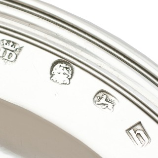Sterling Silver Plate - Antique James II