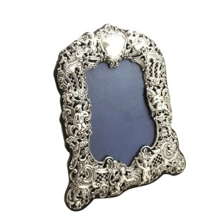 Antique Victorian Sterling Silver 8 1/2