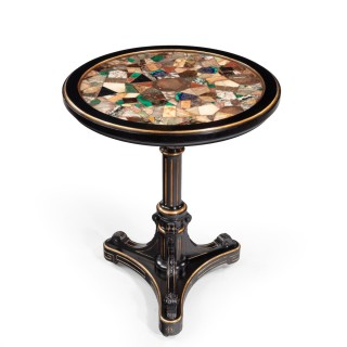 A Victorian specimen marble table by Gillow & Co 1878