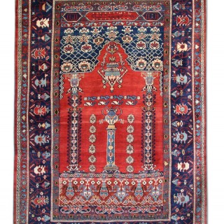 Antique Shirvan Rug, Caucasian 175x275cm
