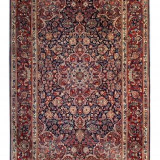 Antique Persian Kashan Rug 132x212cm