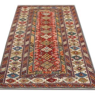 Antique Kazak Rug, Caucasian 122x183cm