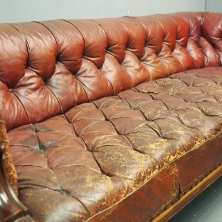 Scottish Chesterfield Sofa by John Taylor, Edinburgh