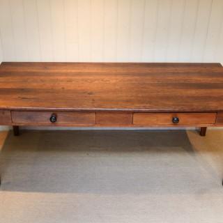 French Oak Farmhouse Table