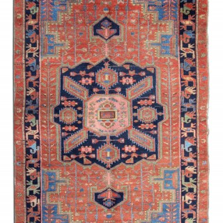 Antique Heriz Rug 124x200cm