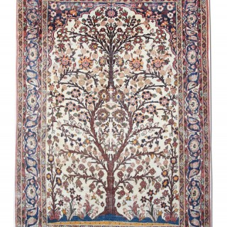 Antique Ifshan Rug, Persia 133x204cm