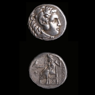 Philip Arrhidaeus Silver Drachm