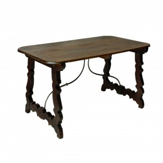 AN ELEGANT SPANISH CONSOLE TABLE