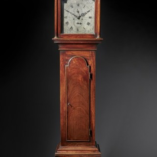 A Fine George III Period Mahogany Longcase Clock of Excellent Colour, Patination and Proportions, C. 1780-1790