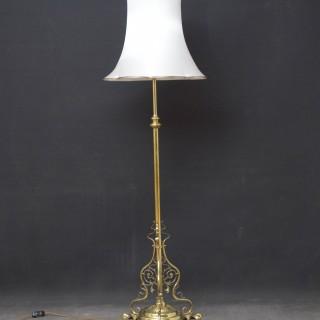 Late Victorian Floor Lamp