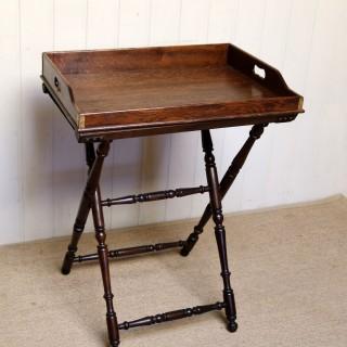 Oak Butlers Tray