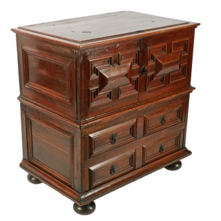 Charles II Cedar Wood Chest