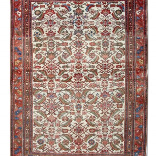 Persian Antique Isfahan Rug  134x179cm