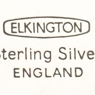 Sterling Silver Tray by Elkington & Co Ltd - Vintage (1966)