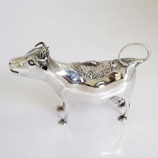 George III Silver Cow Creamer