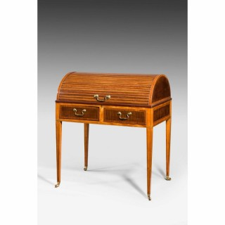 George III Period Cylinder Top Desk