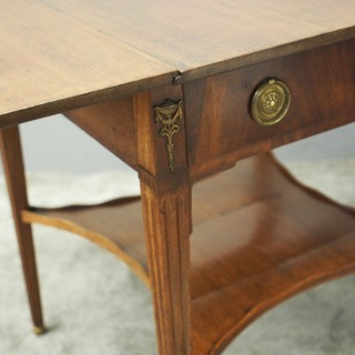 French Mahogany Supper Table