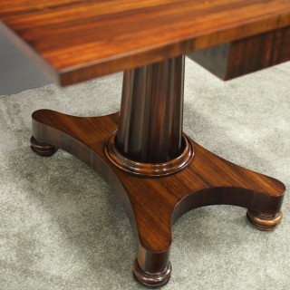 George IV Goncalo Alves Foldover Tea Table