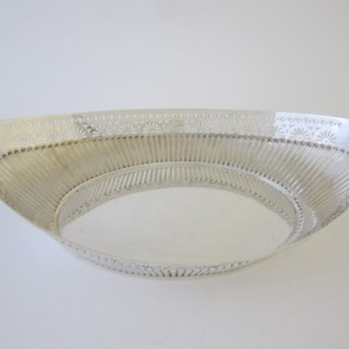Antique Victorian Sterling silver dish