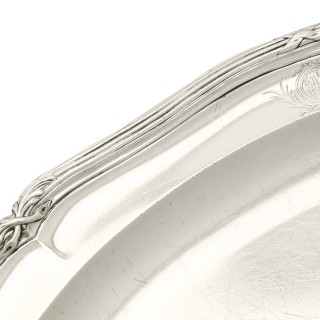 Sterling Silver Meat Platter by Paul Storr - Antique George III